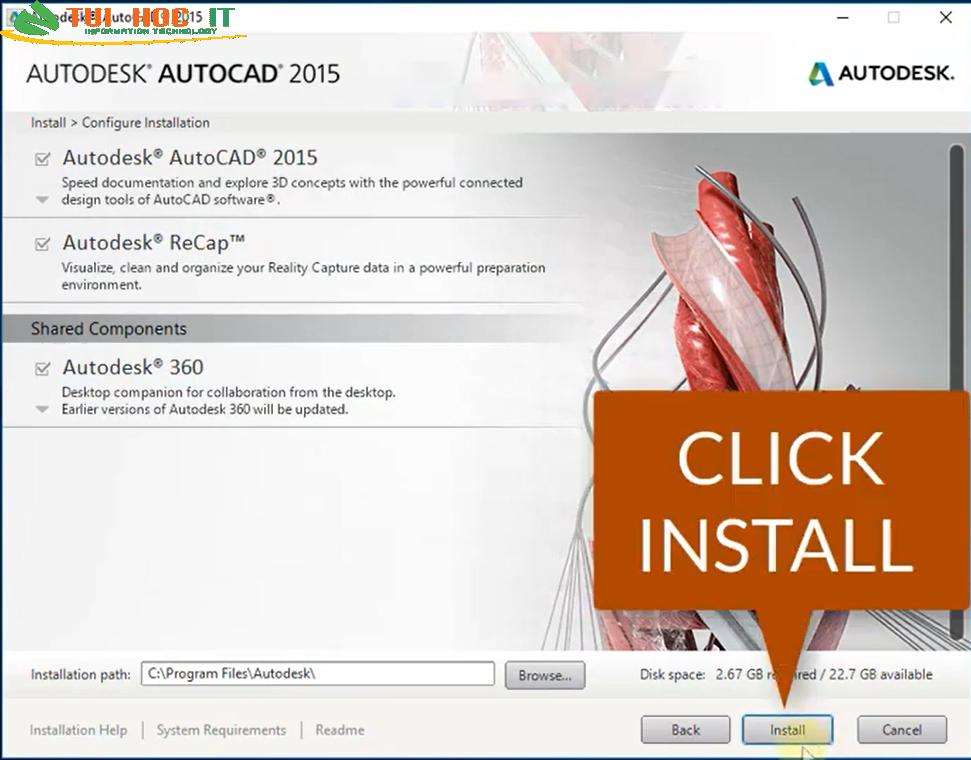 Tải AutoCAD 2015 32/64 Bit Full Vĩnh Viễn Miễn Phí 100% 35