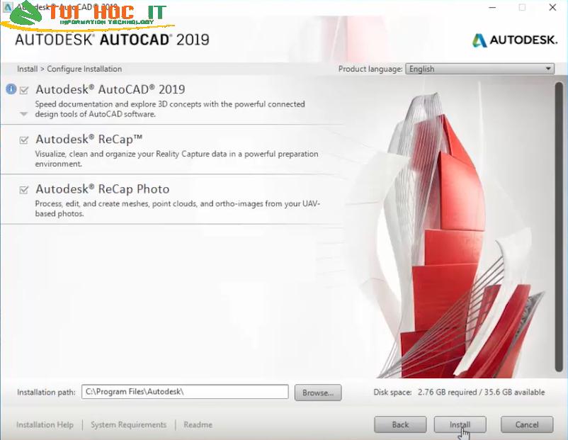 Tải AutoCAD 2019 32/64 Bit Full Vĩnh Viễn Miễn Phí 100% 39